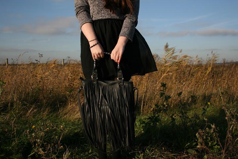 fringe designer inspired rip off bag kardashian inspired kim khloe  blog uk ebay outfit ootd