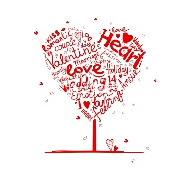 valentine-tree-heart-shape-for-your-design-vector-1831145
