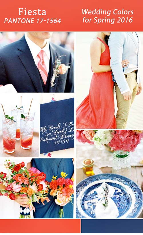 fiesta-red-and-navy-blue-2016-pantone-wedding-color-ideas