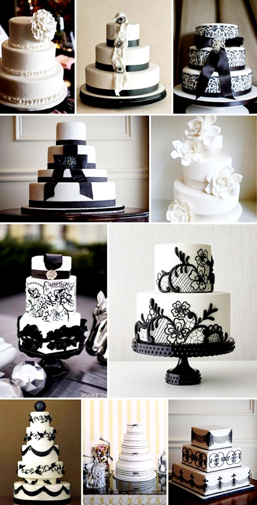black-and-white-wedding-cakes