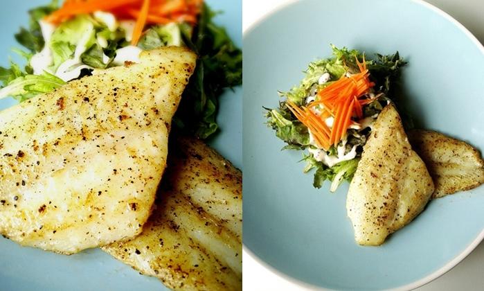 Pan-seared Dory Fish