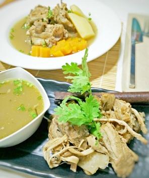 Black pock soup2