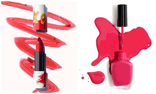 Lip-nail-polish