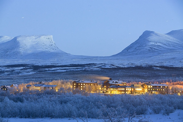 STF Abisko fjällhotell :Abisko Mountain Station, Swedish Lapland