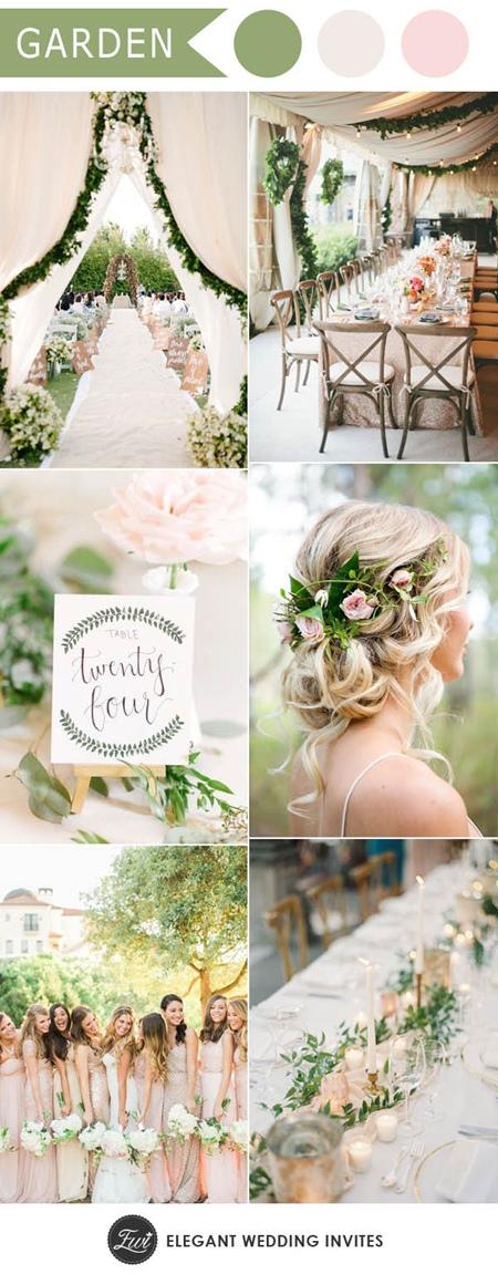 elegant-greenery-garden-theme-wedding-ideas