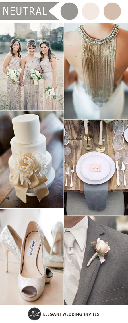 elegant-silver-and-ivory-neutral-wedding-colors-for-2017-wedding-trends