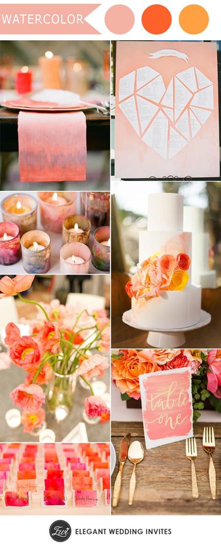 unique-pink-DIY-watercolor-wedding-inspiration