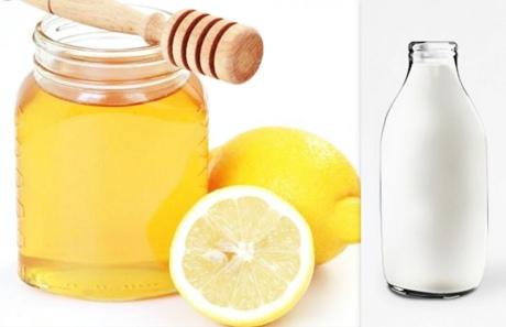 honey-milk-lemon