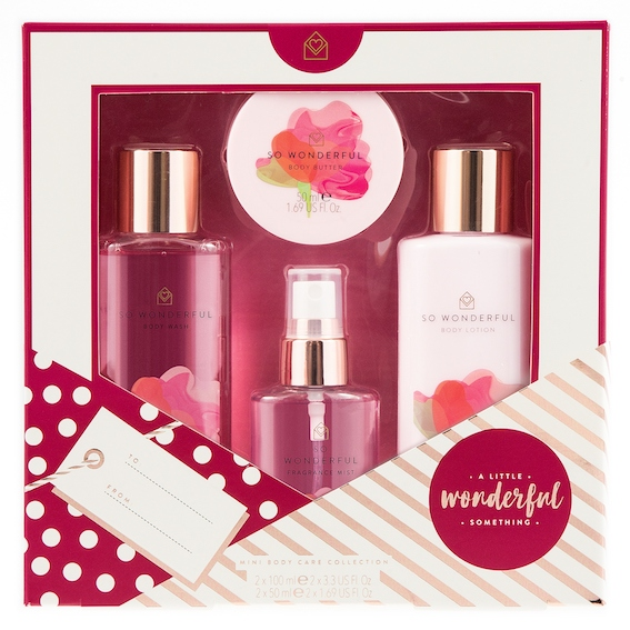 A Little Something Floral Mini Body Care Collection